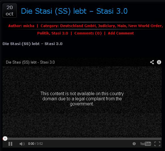 die Stasi lebt